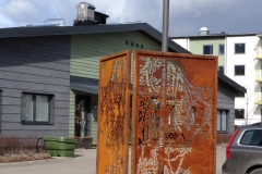 """""""Absent - Sorbus"""" Skärmskulptur"""
