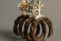 """Ring """"Nature and Time"""""""
