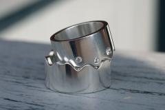 Ringar i sterlingsilver med cubic zirkoner